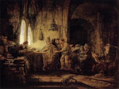 The Parable of the Labourers in the Vineyard, 1637 by Rembrandt van Rijn
