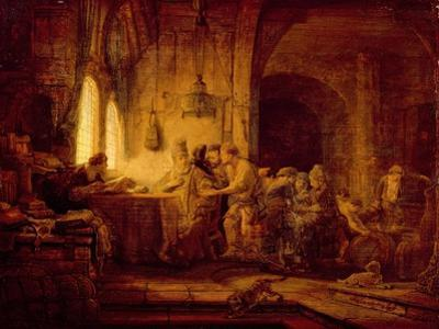 The Parable of the Labourers in the Vineyard by Rembrandt van Rijn
