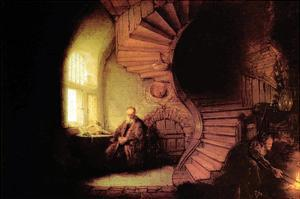 The Philosopher by Rembrandt van Rijn