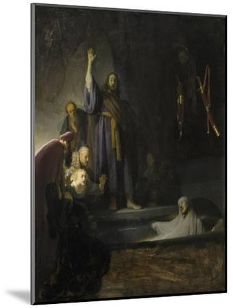 The Raising of Lazarus, c.1630-2 by Rembrandt van Rijn