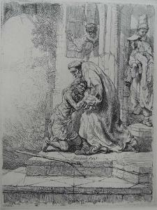 The Return of the Prodigal Son, 1636 by Rembrandt van Rijn