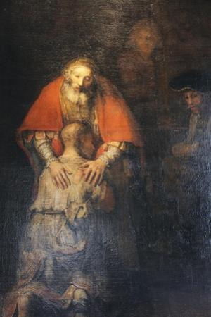The Return of the Prodigal Son, C1665-C1669 by Rembrandt van Rijn