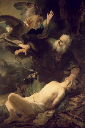 The Sacrifice of Abraham, 1635 by Rembrandt van Rijn