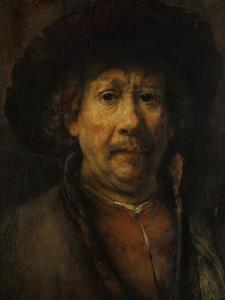 The Small Self-Portrait, circa 1657 by Rembrandt van Rijn