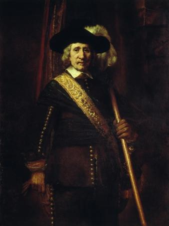 The Standard Bearer Floris Soop, 1654 by Rembrandt van Rijn