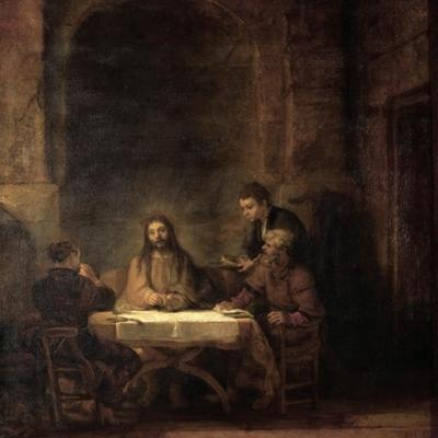 The Supper at Emmaus by Rembrandt van Rijn