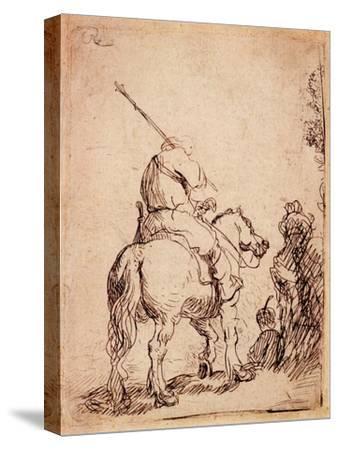 The Turbaned Soldier on Horseback, 1632