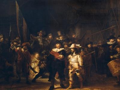 The Vigil by Rembrandt van Rijn