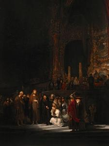 The Woman Taken in Adultery, 1644 by Rembrandt van Rijn