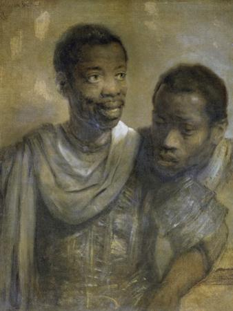 Two Black Men by Rembrandt van Rijn