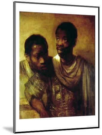 Two Negroes by Rembrandt van Rijn