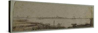 View of the River Ij from the Diemerdijk, C.1650