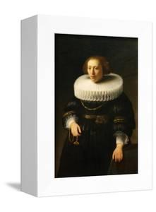 Woman with a Ruff Collar by Rembrandt van Rijn