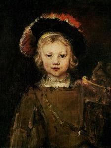 Young Boy in Fancy Dress, circa 1660 by Rembrandt van Rijn