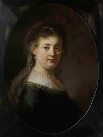 Young Woman in Fantasy Costume, 1633 by Rembrandt van Rijn