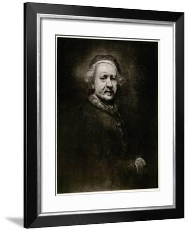 Rembrandt Van Ryn, 1884-90--Framed Giclee Print