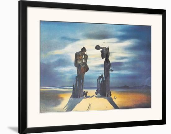 Reminescence Archeologique de l'Angelus de Millet, 1935-Salvador Dalí-Framed Art Print