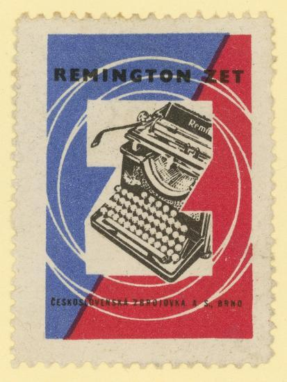 Remington Typewriters--Giclee Print