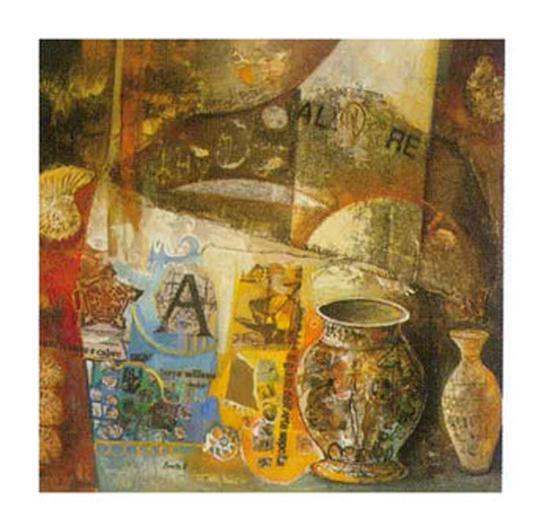 Reminiscences III-von Bonetto-Art Print