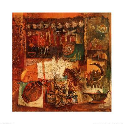 Reminiscences IV-von Bonetto-Art Print