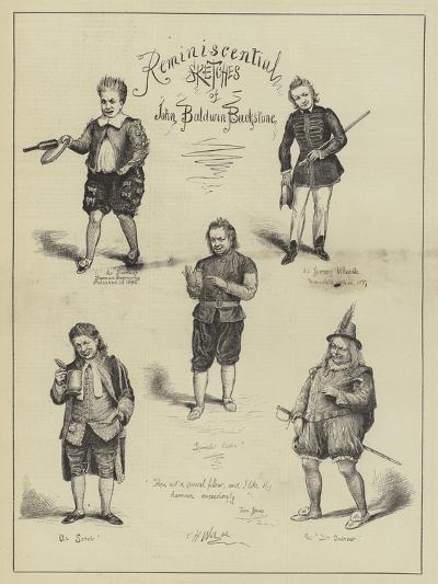 Reminiscential Sketches of John Baldwin Buckstone--Giclee Print
