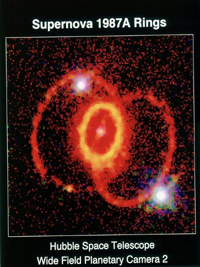 Remnant of Supernova 1987A--Giclee Print