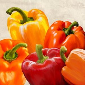 Peppers by Remo Barbieri