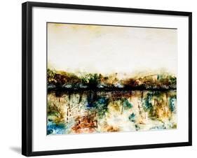 Remote-Hyunah Kim-Framed Art Print
