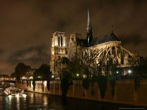 Notre Dame, Paris, France by Remy De La Mauviniere