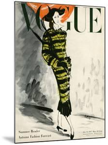 Vogue Cover - July 1947 by Ren? Bou?t-Willaumez