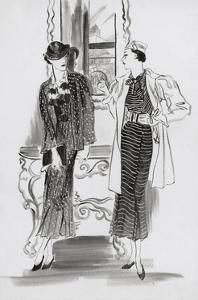 Vogue - May 1933 by Ren? Bou?t-Willaumez