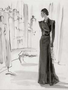 Vogue - November 1936 by Ren? Bou?t-Willaumez