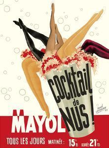 Cocktail de Nus! (Cocktail of Nudes!) - Concert Mayol Cabaret - Paris, France by Ren? Lefebvre