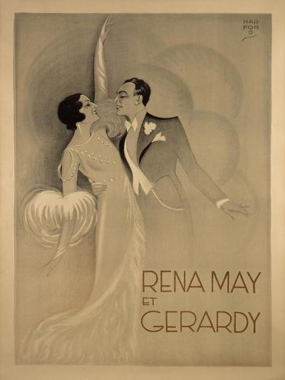 Rena May Et Gerardy-Marcus Jules-Giclee Print