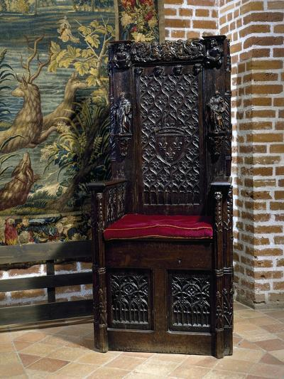 Renaissance Style Throne Chair--Giclee Print