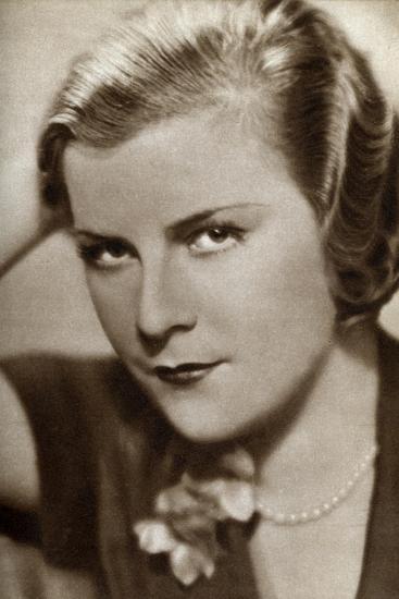 Renate Müller, German Actress, 1933--Giclee Print