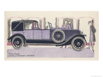 Renault Admired-Jean Grangier-Giclee Print