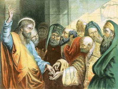 Render Unto Caesar-Peter Paul Rubens-Giclee Print