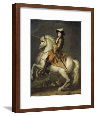 Louis XIV à cheval, roi de France et de Navarre (1638-1715)