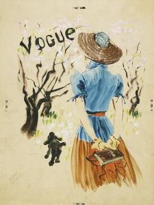 Vogue - April 1938 by René Bouét-Willaumez