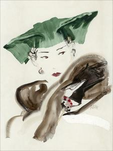 Vogue - August 1935 by René Bouét-Willaumez