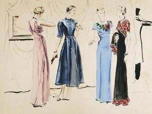 Vogue - August 1936 by René Bouét-Willaumez