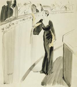 Vogue - December 1933 by René Bouét-Willaumez