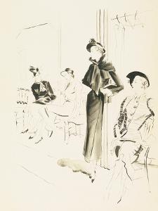 Vogue - December 1934 by René Bouét-Willaumez
