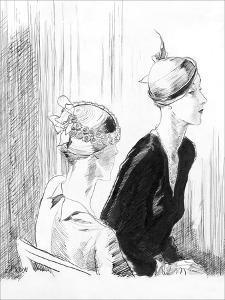 Vogue - February 1932 by René Bouét-Willaumez