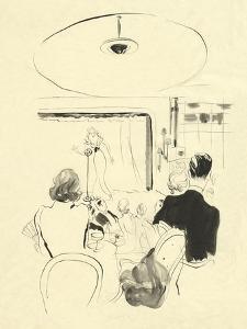 Vogue - January 1935 by René Bouét-Willaumez