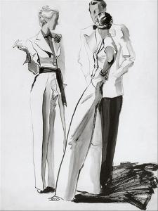 Vogue - July 1936 by René Bouét-Willaumez