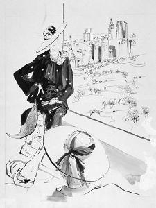 Vogue - May 1935 by René Bouét-Willaumez