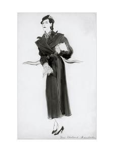 Vogue - November 1933 by René Bouét-Willaumez