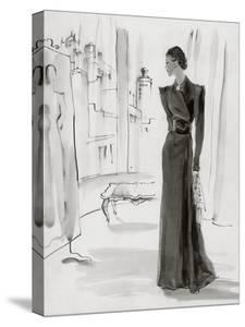 Vogue - November 1936 by René Bouét-Willaumez